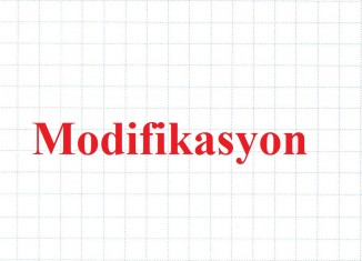 modifikasyon