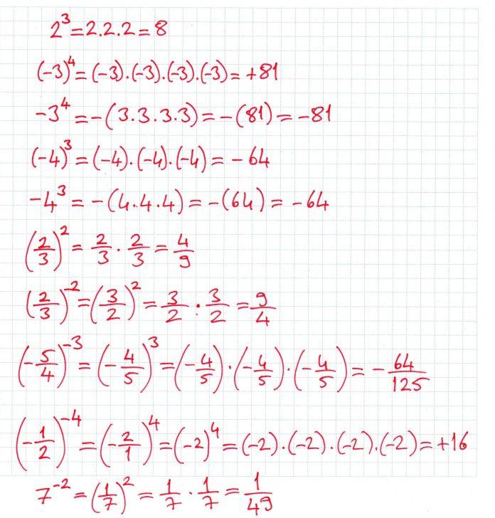 8.Sınıf Üslü Sayılar Konu Anlatımı